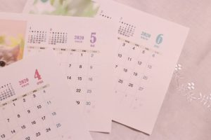 時間カレンダー