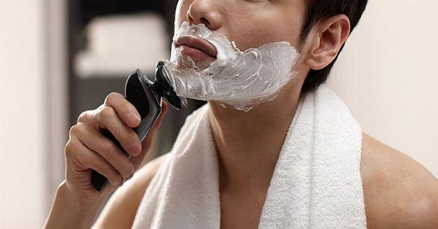 髭剃りダメージ